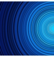 Abstract blue circle stripes colorful background vector image