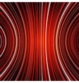 Abstract black and red warped stripes colorful vector image