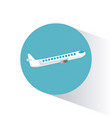airplane transport vehicle image vector image vector image