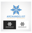 archangel symbol vector image