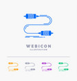 buzz communication interaction marketing wire 5 vector image vector image