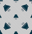 Kitchen hood icon sign Seamless pattern with vector image vector image