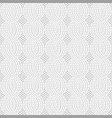 knit white pattern vector image vector image