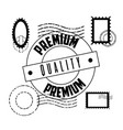 premium quality template vector image vector image