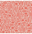 Seamless pattern with abstract doodle square vector image vector image