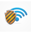 Wifi Safety Concept vector image