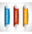 Feedback Tags vector image