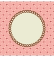 set with circle frames for wedding invitation vector image vector image