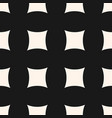 simple geometric seamless pattern with big mesh vector image vector image