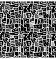 Abstract seamless urban pattern vector image