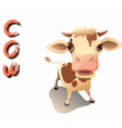 animal cow vector image vector image