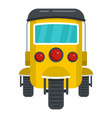 city taxi icon flat style vector image vector image