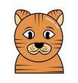cute pet animal cat isolated image vector image