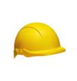 hard hat - safety helmet realistic vector image vector image