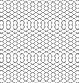 Seamless Cage Grill Mesh Octagon Background vector image vector image