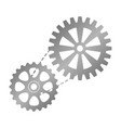 bike gears icon vector image