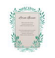 card with place for your textthe letter of thanks vector image vector image