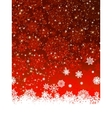 Christmas decoration background EPS 8 vector image vector image