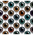 Color Eyes Pattern vector image vector image