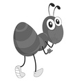 Doodle ant vector image vector image