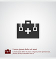 first aid icon simple vector image vector image
