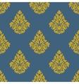 flourish seamless pattern with bells