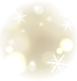 Light warm snowy background vector image