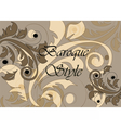 Baroque Classic style background