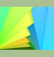 colorful paper for background vector image vector image