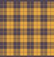 halloween tartan seamless pattern background vector image vector image