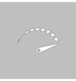 indicator computer symbol vector image