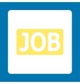 Job icon vector image