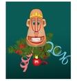 Monkey mask vector image vector image