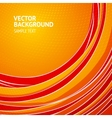 Orange vertical lines abstraction vector image vector image