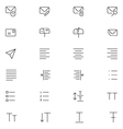 User Interface Icons 11 vector image vector image