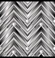 zigzag geometric greek key meander 3d vector image vector image