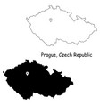 1052 prague czechia vector image