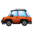 An orange car vector | Price: 1 Credit (USD $1)