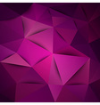 triangles purple vector image vector image