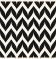 zigzag chevron seamless pattern curved wavy lines vector image vector image