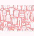 fashion seamless background pattern clothes vector image vector image
