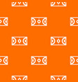 futsal or indoor soccer field pattern seamless vector image vector image