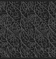 seamless abstract pattern intertwined wavy vector image vector image