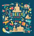 songkran festival thailand new year vector image vector image