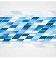 Tech blue background vector image vector image
