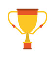 trophy cup icon image vector image vector image