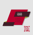 abstract linear logotype wave flow logo symbol vector image