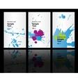 business cards background design vector image