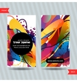 Colorful decorative business cards with free