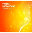 Elegant red background vector image vector image